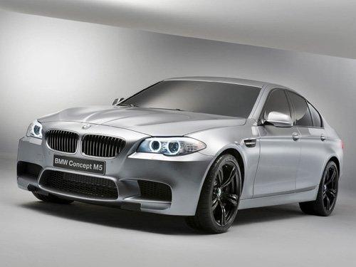 "BMW M5 Concept Car Poster Print on 10 mil Archival Satin Paper 36"" x 24"""