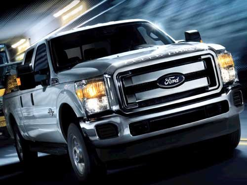 """Ford F-350 Super Duty Truck Poster Print on 10 mil Archival Satin Paper 16"""" x 12"""""""