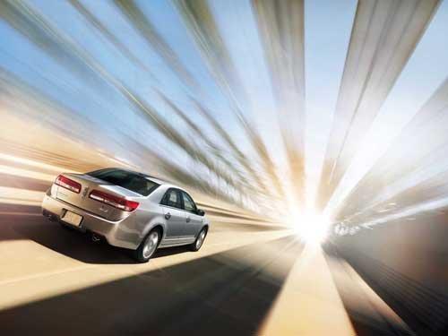 "Lincoln MKZ Hybrid Car Poster Print on 10 mil Archival Satin Paper 20"" x 15"""