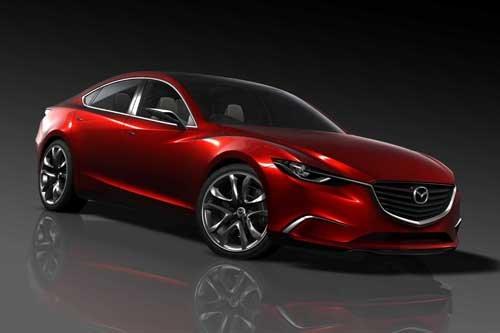 """Mazda Takeri (2012) Car Poster Print on 10 mil Archival Satin Paper 16"""" x 12"""""""