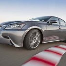 "Lexus GS 350 F Sport Car Poster Print on 10 mil Archival Satin Paper 36"" x 24"""