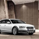 "Audi A4 Allroad Quattro (2012) Car Poster Print on 10 mil Archival Satin Paper 16"" x 12"""