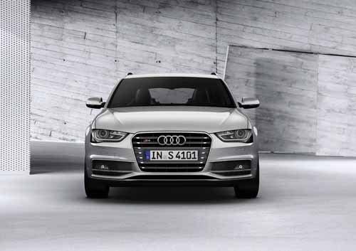 "Audi S4 Avant (2012) Car Poster Print on 10 mil Archival Satin Paper 16"" x 12"""