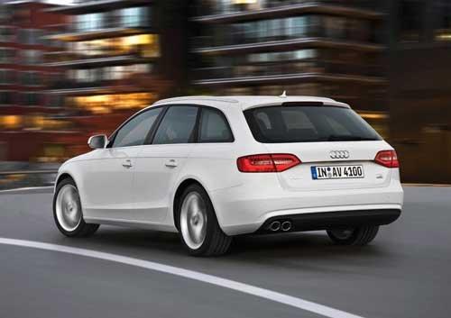 "Audi A4 Avant (2012) Car Poster Print on 10 mil Archival Satin Paper 16"" x 12"""