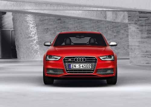 "Audi S4 (2012) Car Poster Print on 10 mil Archival Satin Paper 20"" x 15"""