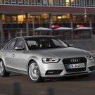 "Audi A4 (2012) Car Poster Print on 10 mil Archival Satin Paper 24"" x 18"""