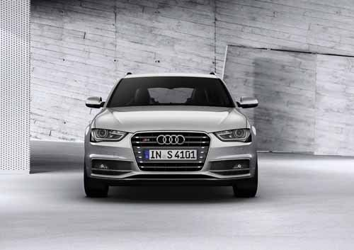 "Audi S4 Avant (2012) Car Poster Print on 10 mil Archival Satin Paper 36"" x 24"""