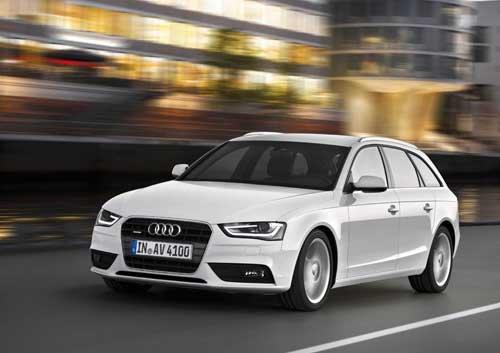 "Audi A4 Avant (2012) Car Poster Print on 10 mil Archival Satin Paper 36"" x 24"""