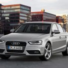 "Audi A4 (2012) Car Poster Print on 10 mil Archival Satin Paper 36"" x 24"""