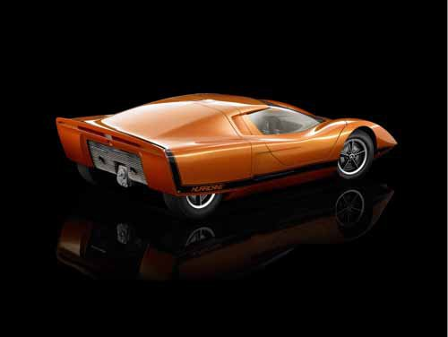 """Holden Hurricane Concept Car Poster Print on 10 mil Archival Satin Paper 36"""" x 24"""""""
