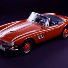 "BMW 507 Convertible (1955) Car Poster Print on 10 mil Archival Satin Paper 16"" x 12"""