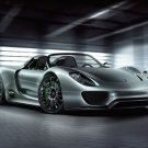 "Porsche 918 Spyder Concept Car Poster Print on 10 mil Archival Satin Paper 24"" x 18"""