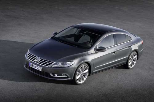 "Volkswagen Passat CC (2012) Car Poster Print on 10 mil Archival Satin Paper 16"" x 12"""