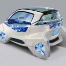 """Honda Micro Commuter Concept Car Poster Print on 10 mil Archival Satin Paper 36"""" x 24"""""""