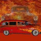 "Oldsmobile Wagon (1953) Car Poster Print on 10 mil Archival Satin Paper 24"" x 18"""