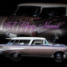 "Chevrolet Nomad (1957) Car Poster Print on 10 mil Archival Satin Paper 24"" x 18"""