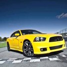 "Dodge Charger SRT8 Super Bee (2012) Car Poster Print on 10 mil Archival Satin Paper 16"" x 12"""