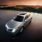 "Lincoln MKS (2013) Car Poster Print on 10 mil Archival Satin Paper 16"" x 12"""