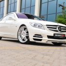 "Brabus Mercedes-Benz CL 800 Coupe Car Poster Print on 10 mil Archival Satin Paper 16"" x 12"""