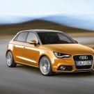 "Audi A1 Sportback (2012) Car Poster Print on 10 mil Archival Satin Paper 16"" x 12"""