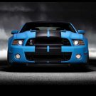 "Ford Mustang Shelby GT500 (2013) Car Poster Print on 10 mil Archival Satin Paper 20"" x 15"""