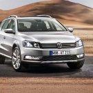 """Volkswagen Passat Alltrack (2012) Car Poster Print on 10 mil Archival Satin Paper 24"""" x 18"""""""