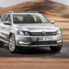 """Volkswagen Passat Alltrack (2012) Car Poster Print on 10 mil Archival Satin Paper 36"""" x 24"""""""