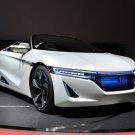 "Honda EV-STER Concept Car Poster Print on 10 mil Archival Satin Paper 24"" x 18"""