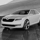 "Skoda Geneva Car Poster Print on 10 mil Archival Satin Paper 36"" x 24"""