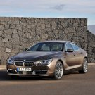 "BMW 6 Series Gran Coupe Car Poster Print on 10 mil Archival Satin Paper 16"" x 12"""