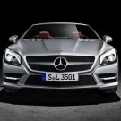 "Mercedes-Benz SL (2012) Car Poster Print on 10 mil Archival Satin Paper 24"" x 18"""