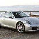 "Porsche 911 Carrera S (2012) Car Poster Print on 10 mil Archival Satin Paper 16"" x 12"""