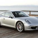 "Porsche 911 Carrera S (2012) Car Poster Print on 10 mil Archival Satin Paper 36"" x 24"""