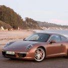 "Porsche 911 Carrera S (2012) Car Poster Print on 10 mil Archival Satin Paper 36"" x 24"""