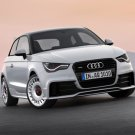 "Audi A1 quattro (2012) Car Poster Print on 10 mil Archival Satin Paper 36"" x 24"""