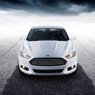 "Ford Fusion (2013) Car Poster Print on 10 mil Archival Satin Paper 16"" x 12"""