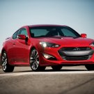 "Hyundai Genesis Coupe (2013) Car Poster Print on 10 mil Archival Satin Paper 16"" x 12"""