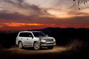 "Lexus LX 570 (2013) Car Poster Print on 10 mil Archival Satin Paper 16"" x 12"""