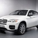 "BMW X6 (2012) M50d Car Poster Print on 10 mil Archival Satin Paper 24"" x 18"""