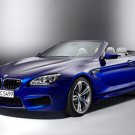"BMW M6 Convertible (2012) Car Poster Print on 10 mil Archival Satin Paper 20"" x 15"""