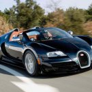 "Bugatti Veyron Grand Sport Vitesse Car Poster Print on 10 mil Archival Satin Paper 16"" x 12"""