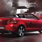 "Volkswagen Golf Cabriolet (2012) Car Poster Print on 10 mil Archival Satin Paper 16"" x 12"""
