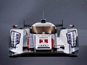 "Audi R18 E Tron Quattro Race Car Poster Print on 10 mil Archival Satin Paper 16"" x 12"""