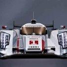 "Audi R18 E Tron Quattro Race Car Poster Print on 10 mil Archival Satin Paper 20"" x 15"""