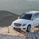 "Mercedes-Benz GLK (2013) Car Poster Print on 10 mil Archival Satin Paper 24"" x 18"""