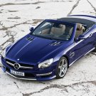 "Mercedes-Benz SL 65 AMG Car Poster Print on 10 mil Archival Satin Paper 20"" x 15"""