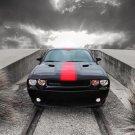 "Dodge Challenger Rallye Redline Car Poster Print on 10 mil Archival Satin Paper 16"" x 12"""
