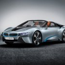 "BMW i8 Spyder Concept Car Poster Print on 10 mil Archival Satin Paper 16"" x 12"""