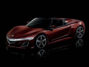 Acura NSX Roadster Concept Car Poster Print on 10 mil Archival Satin Paper 16&quot; x 12&quot;