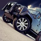 "Vilner Land Rover Defender Car Poster Print on 10 mil Archival Satin Paper 20"" x 15"""
